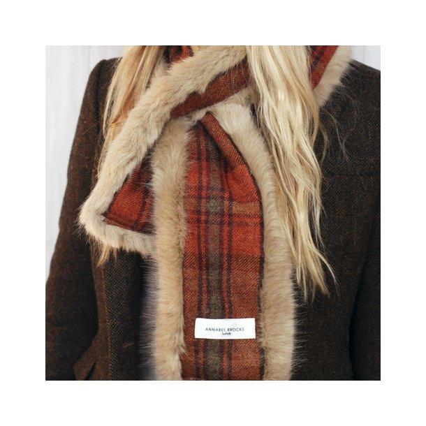 Hals orange tweed