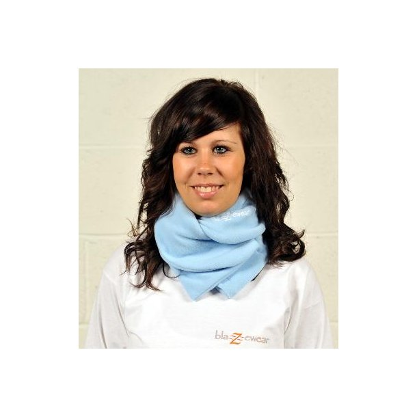 Halstørklæde med varme